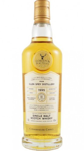 "Single Malt Scotch Whisky ""Connoisseurs Choice Glen Spey"" Gordon & MacPhail 1998 70 cl"