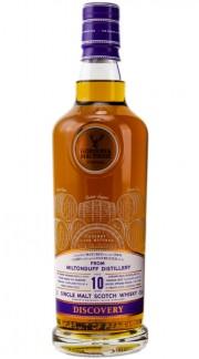 """Single Malt Scotch Whisky """"Discovery Miltonduff 10 Y.O."""" Gordon & MacPhail 10 anni 70 cl"""
