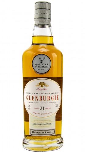 "Single Malt Scotch Whisky ""Distillery Labels Glenburgie 21 Y.O."" Gordon & MacPhail 21 anni 70 cl"