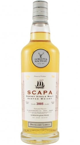 "Single Malt Scotch Whisky ""Distillery Labels Scapa"" Gordon & MacPhail 2005 70 cl"