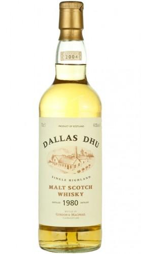 "Single Malt Scotch Whisky ""Rare Vintage Dallas Dhu"" Gordon & MacPhail 1980 70 cl"