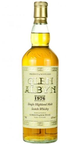 "Single Malt Scotch Whisky ""Glen Albyn Rare Vintage"" Gordon & MacPhail 1976 70 cl"