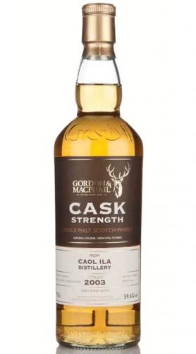 "Single Malt Scotch Whisky ""Cask Strength Caol Ila"" Gordon & MacPhail 2003 70 cl"