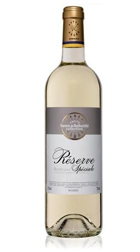 """""""Réserve Spéciale"""" Bordeaux Blanc AOC Baron Edmond De Rothschild 2017"""