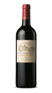 """""""Château des Laurets"""" Baron Edmond de Rothschild 2010 Box di Legno"""