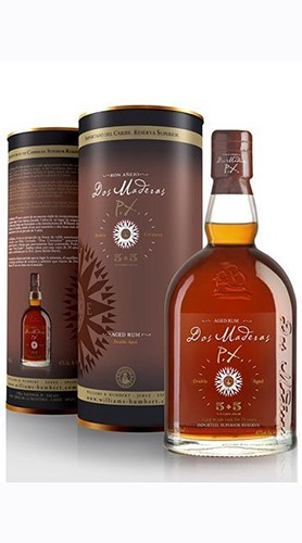 """Rum Ron """"Dos Maderas PX 5+5 Years Old"""" Williams & Humbert 3 Lt"""