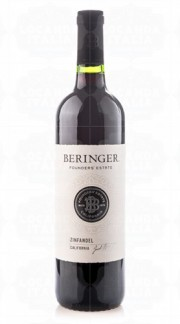 """Founders Estate"" California Wines Zinfandel BERINGER 2017"