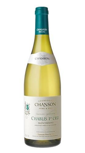 """""""Montmains"""" Chablis AOC Premier Cru CHANSON PERE & FILS 2015"""