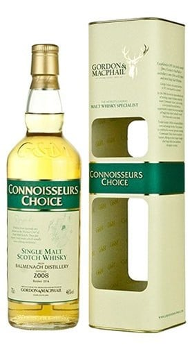 "Single Malt Scotch Whisky ""Connoisseurs Choice Balmenach"" Gordon & MacPhail 2008 70 cl"
