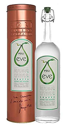 "Grappa ""Eve"" Kosher for Passover Poli Jacopo 70 cl"