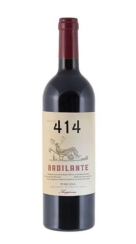 """Il Badilante"" Sangiovese Toscana IGT Podere 414 2017"