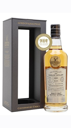"Whisky ""Glenlivet"" Connoisseurs Choice GORDON & MACPHAIL 2003 70 Cl Astuccio"