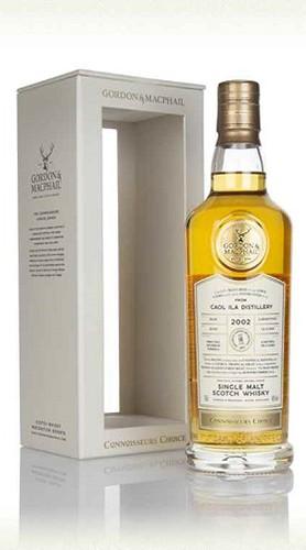 """Whisky """"Caol Ila"""" Connoisseurs Choice GORDON & MACPHAIL 2002 70 Cl Astuccio"""