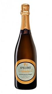 'Les Sources du Flagot' Champagne AOC Extra-Brut Blanc de Blancs Apollonis-Michel Loriot 2007 Astuccio