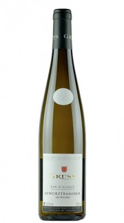 """Les Roches"" Alsace AOC Gewurztraminer GRUSS 2011"